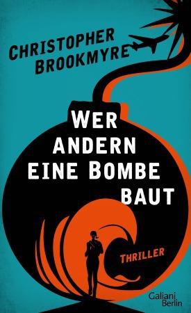 Das Buchcover zeigt eine klassische runde Bombe mit Zündschnur. Darin eine schwarze menschliche Silhouette vor orangerotem kreisförmigem Hintergrund. Über diesem orangen Kreis steht in weißer Schrift im oberen Teil der Bombe der Buchtitel. Das Cover ist hinter der Bombe in gelbgrünstichigem Blau, worauf oberhalb der Bombe in schwarzer Schrift der Name des Autors steht.