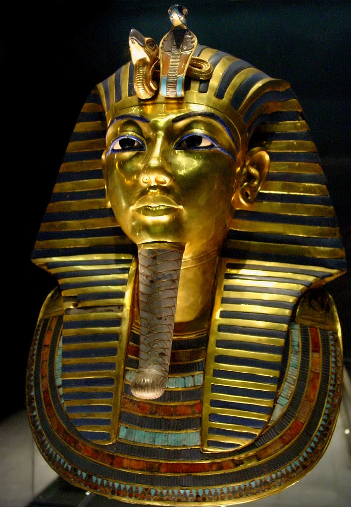 The Gold Mark of Tukankhamum, composed of 11 kg of solid gold. We were admiring this treasure in the Egyptian Museum when we were asked to leave - to our great disappointment.