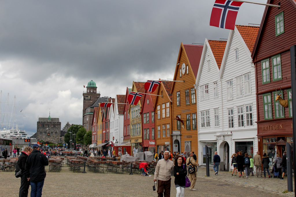 Bryggen, the old warehouse district in Bergen, is a UN Heritage site.
