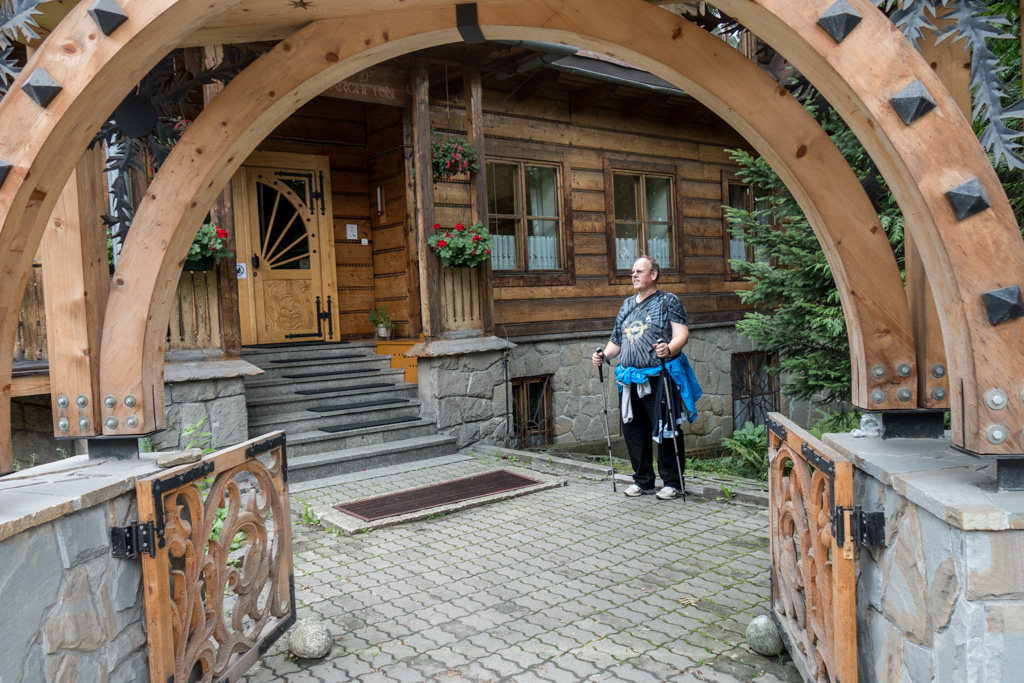 Our hotel in Zakopane.