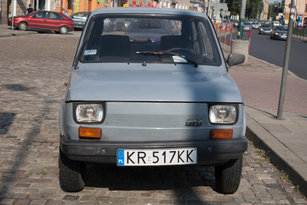 The communist-era Polish Fiat. A real classic!