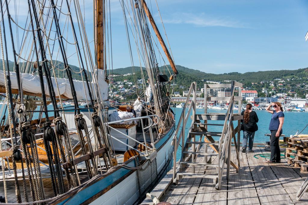 The world's oldest schooner still in use.