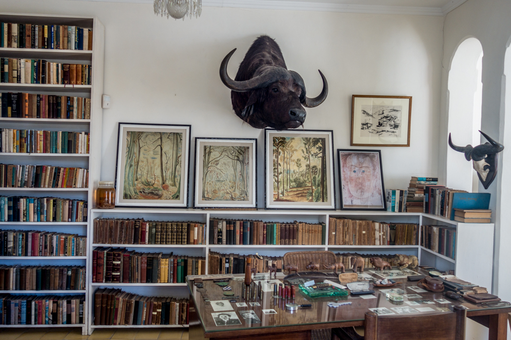 Interior of Ernest Hemingway's house.