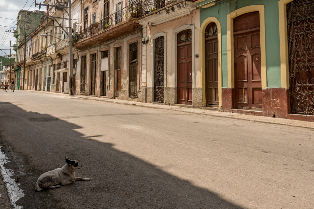 A typical Havana street scene.