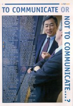 Enrichment Magazine - To Communicate or Not to Communicate