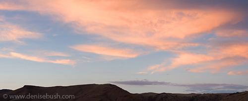 Blue Mesa Panorama © Denise Bush