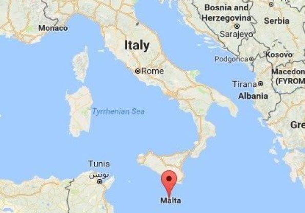 malta, map, maltese