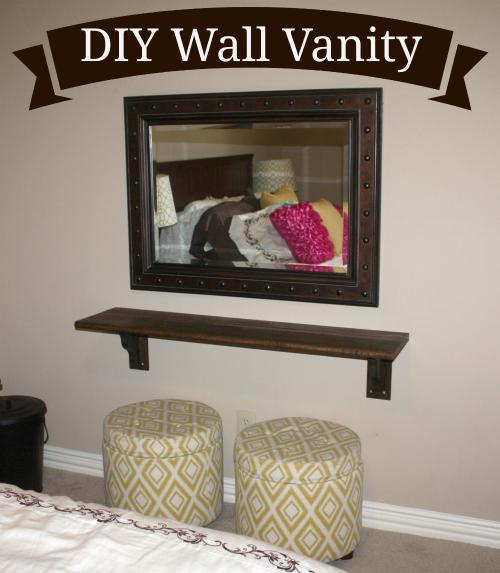 51 Ways To Diy The Bedroom Of Your Kids Dreams: DIY A Wall Vanity