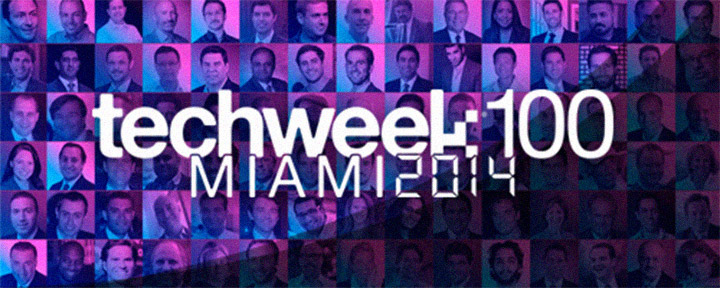 Named one of Miami's TechWeek100 Key Influencers