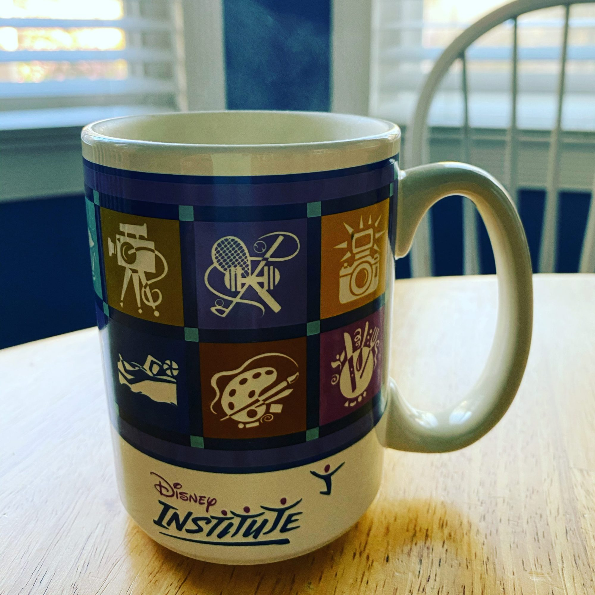 Disney Institute coffee mug denise m. colby #disneymugs post