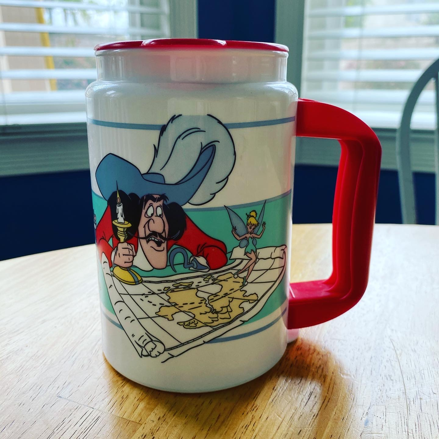 Captain Hook DisneyWorld coffee mug denise m. colby #disneymugs post