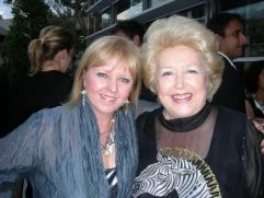 Denise Roberts & Toni Lamond at the Razzle Dazzle Premiere