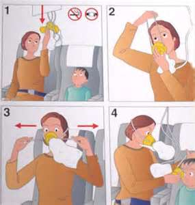 airplane air mask
