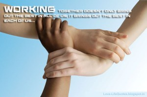 working together team spirit images wallpapers quotes
