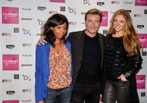 Priscilla Adade, Dominic Bachy et Cyrielle Joelle