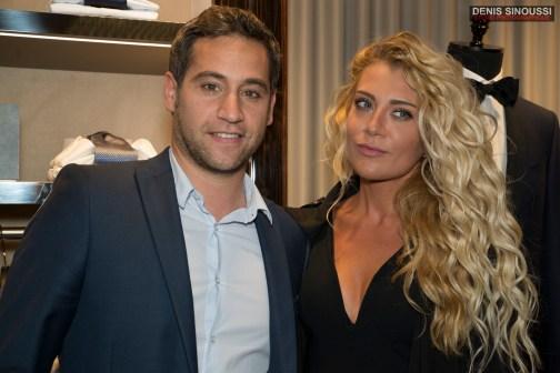 Julien Benedetto et Julia Battaïa