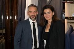 Philippe Bas et Chantal Gemayel