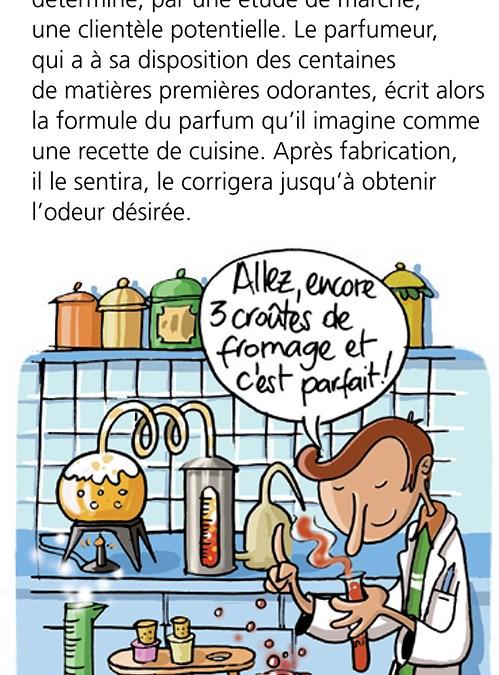 Edition Milan -Livre Odeurs
