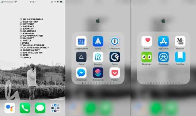Organisation et minimalisme numérique : mon workflow iOS 12 2