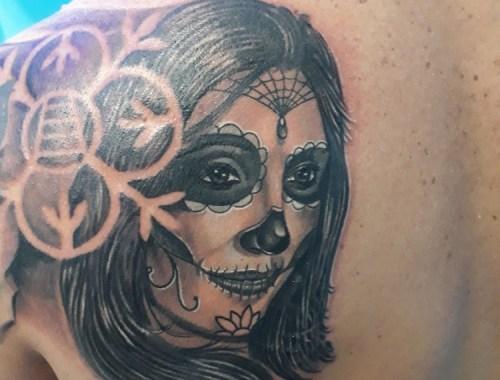 Tatuaggio Catrina 2- Chicano