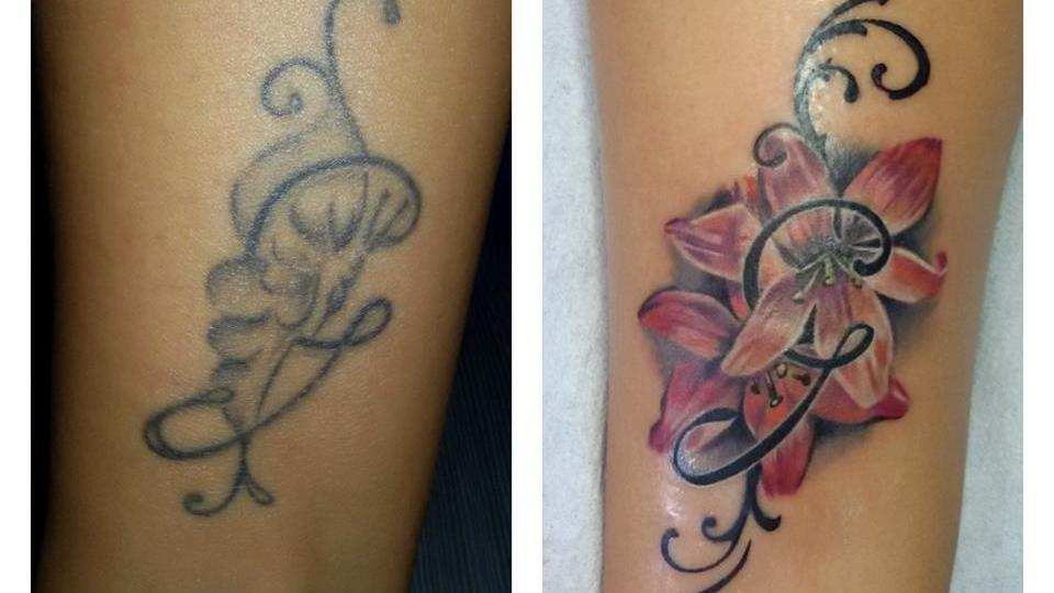 Denis Trevisani Tatuatore verona - tatuaggio copertura
