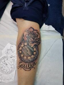 Tattoo Orologio