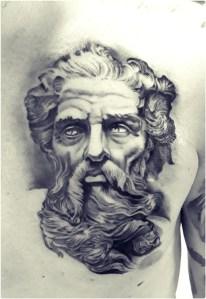 tatuaggio zeus