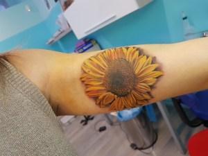 Tatuaggio girasole