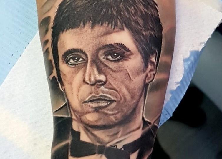 Tatuaggio Scarface