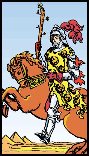 Asaların Şövalyesi - Tarot Kartı