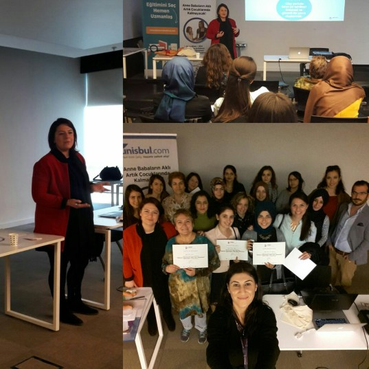 23 Kasım 2015 tarihinde Bakiciburada.com ile birlikte gerçekleştirdiğimiz keyifli eğitime anneler, bakıcılar, öğretmenler ve öğretmen adaylarıyla çok güzel bir eğitim gerçekleştirdik. Öğretmen adaylarının son derece ilgili olması beni çok mutlu etti. Bakiciburada.com'a ve tüm katılımcılarıma çok teşekkür ederim.