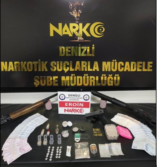 Denizli'ye uyuşturucu sevkiyatında yer alan isimlere operasyon; 17 gözaltı