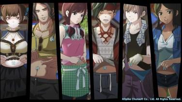 Zanki Zero Characters