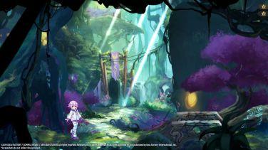 Super Neptunia RPG dungeon