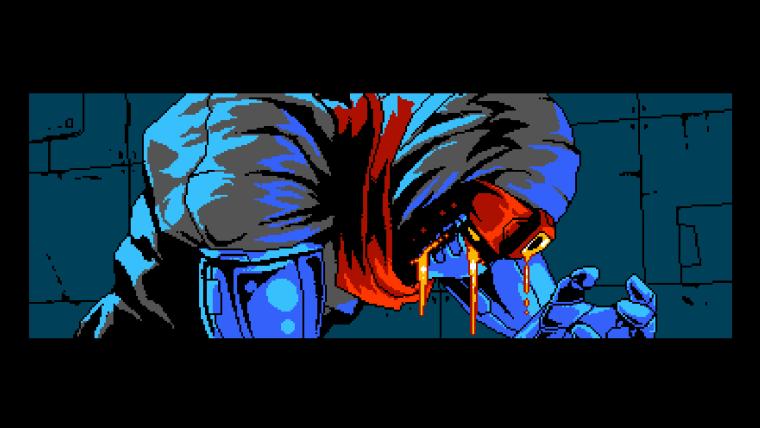 ninja in cyber shadow