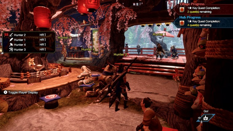 multiplayer in monster hunter rise