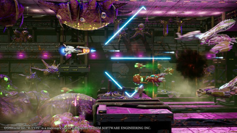 r-type final 2 attacco laser