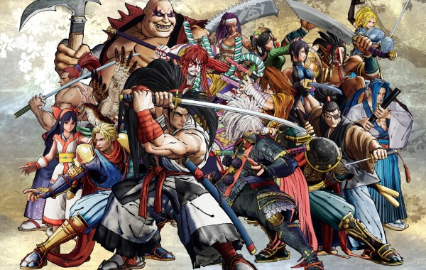 samurai shodown recensione copertina