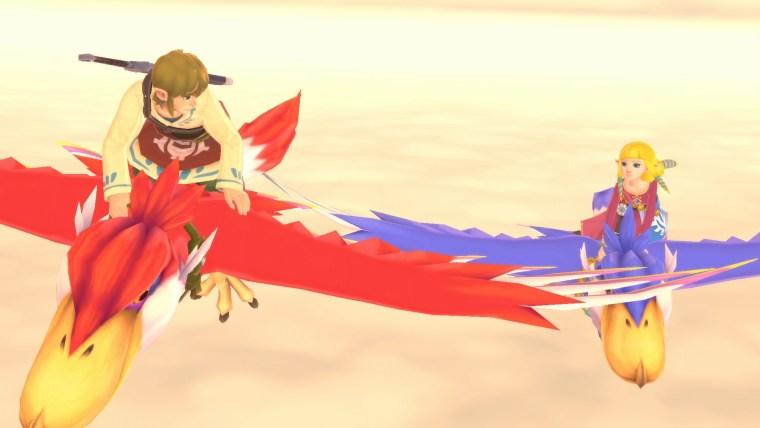 skyward sword hd link e zelda