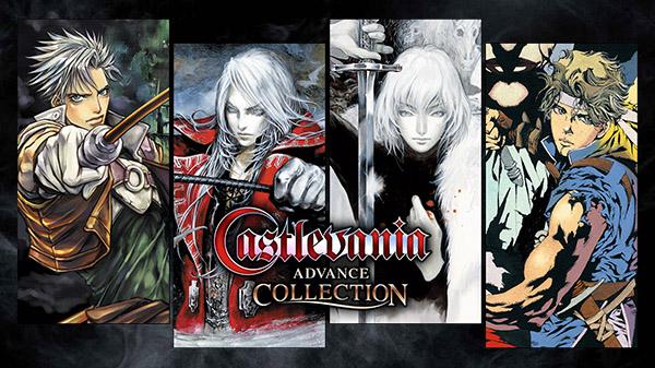 castlevania advance collection copertina