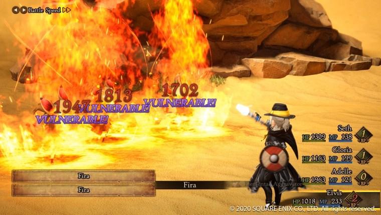 bravely default II pc steam mago