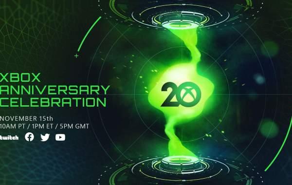 xbox 20 anniversario