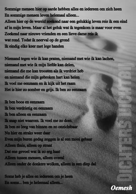 Gedicht-Eenzaam1