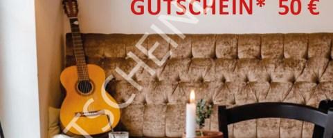 Geschenkidee – Gutschein für die Aquiles Denkbar!