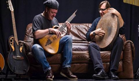 """Freitag, 4.1.2019, 20:00 Uhr – """"Gitarre-Groove-Projekt von Patrick Steinbach und Günter Bozem"""""""