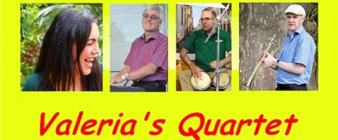 Samstag, 7.9.2019, 20:00 Uhr – Valeria's Quartet – Swing, Bossa  und  …..