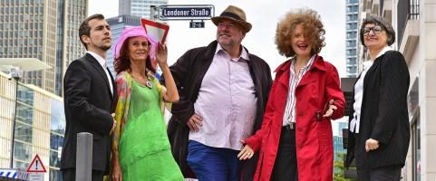 """Sonntag, 10.11.2019, 19:00 Uhr – """"Die Londoner Strasse"""" –  Eine satirische Performance"""