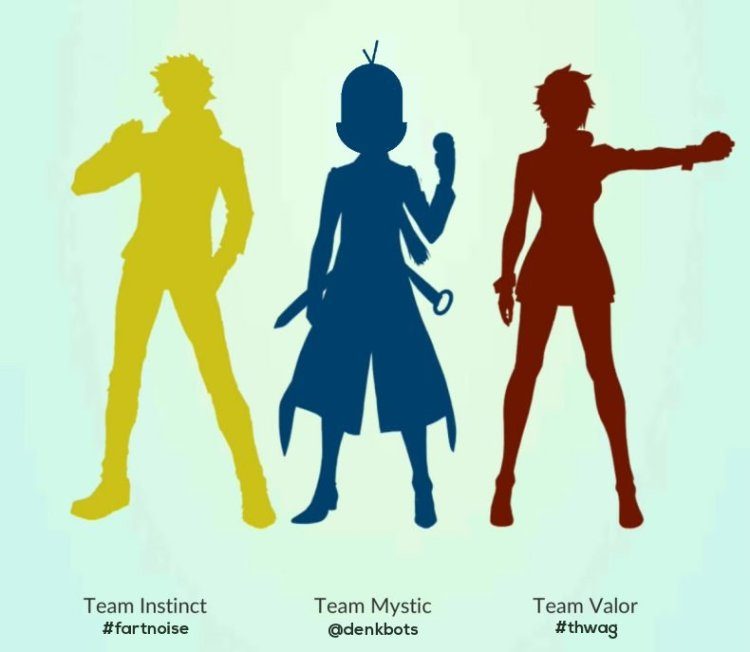 denkbots are Team Mystic