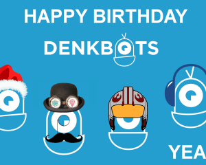 HAPPY BIRTHDAY DENKBOTS
