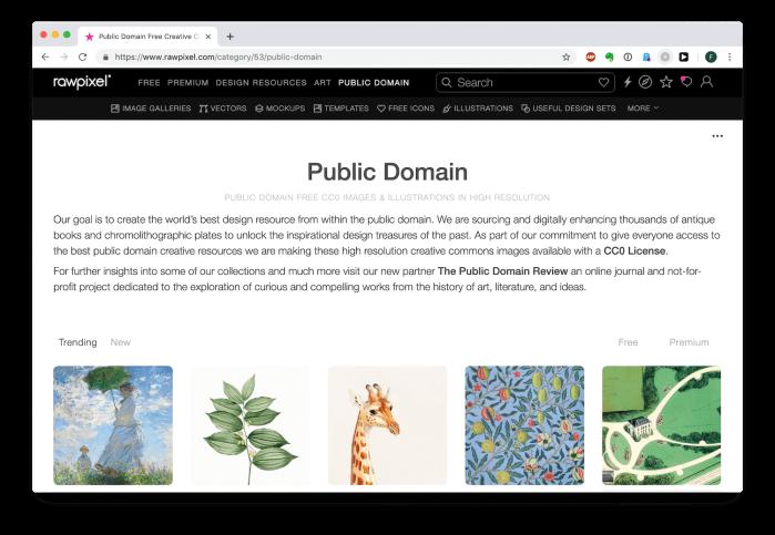 Foto: Homepage Rawpixel